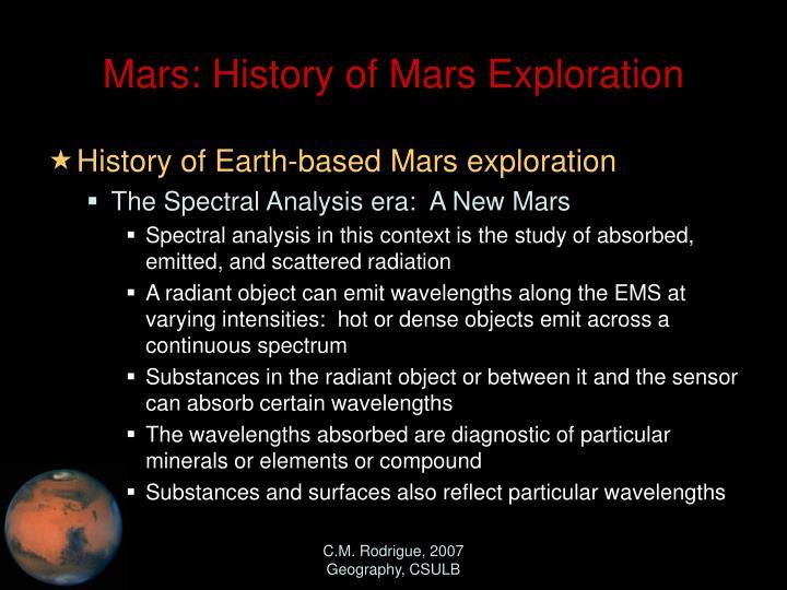 mars missions history - photo #25