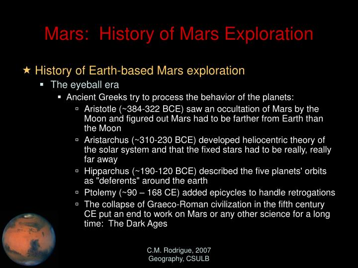 mars missions history - photo #19