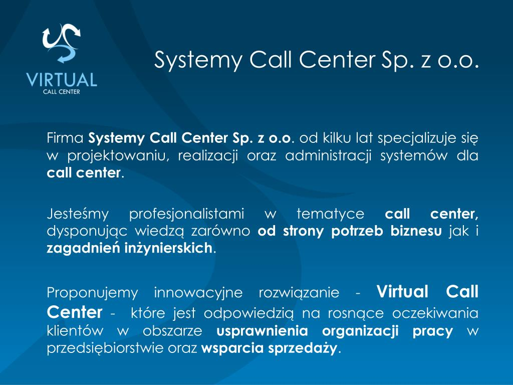 Systemy Call Center Sp. z o.o.