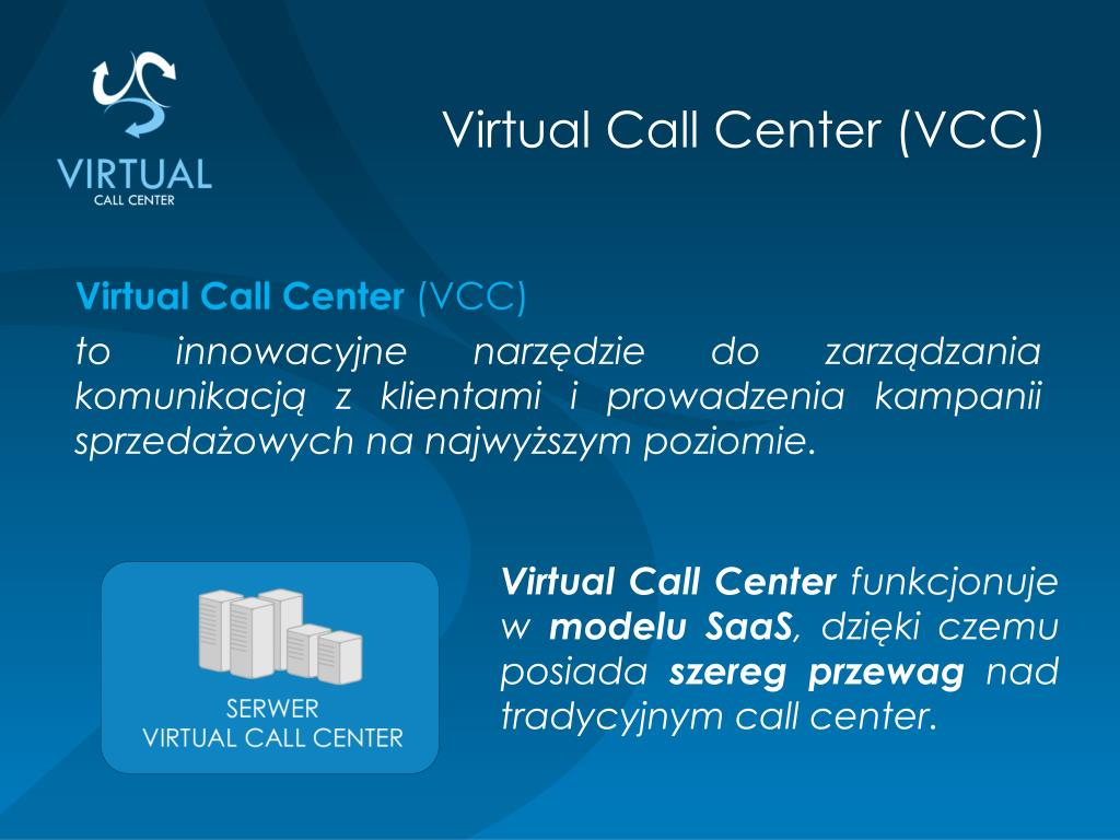 Virtual Call Center (VCC)