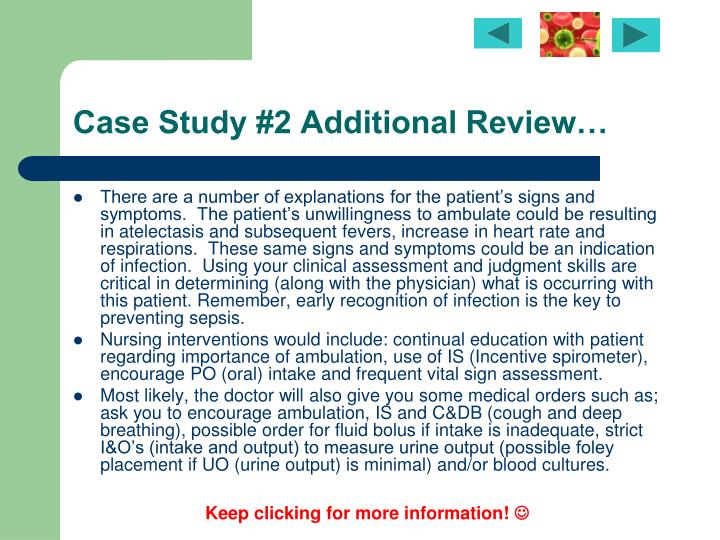 sepsis case study