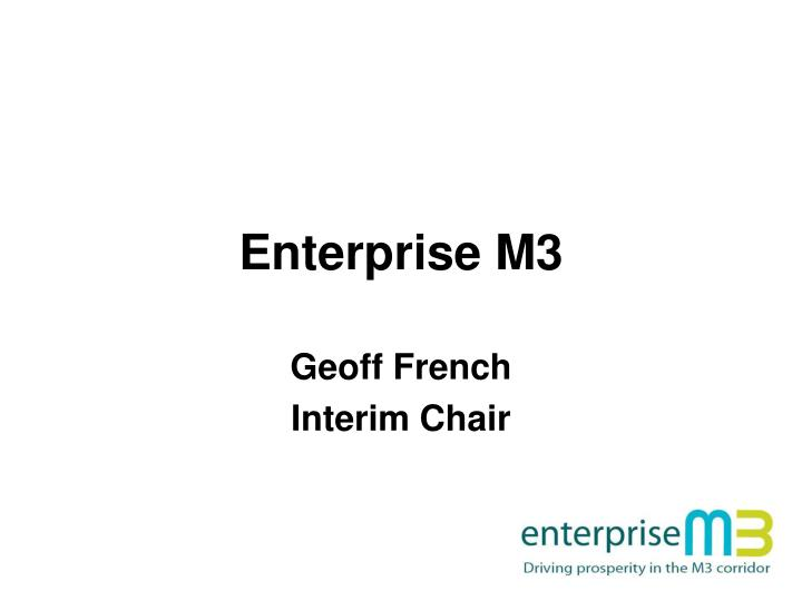 Enterprise M3