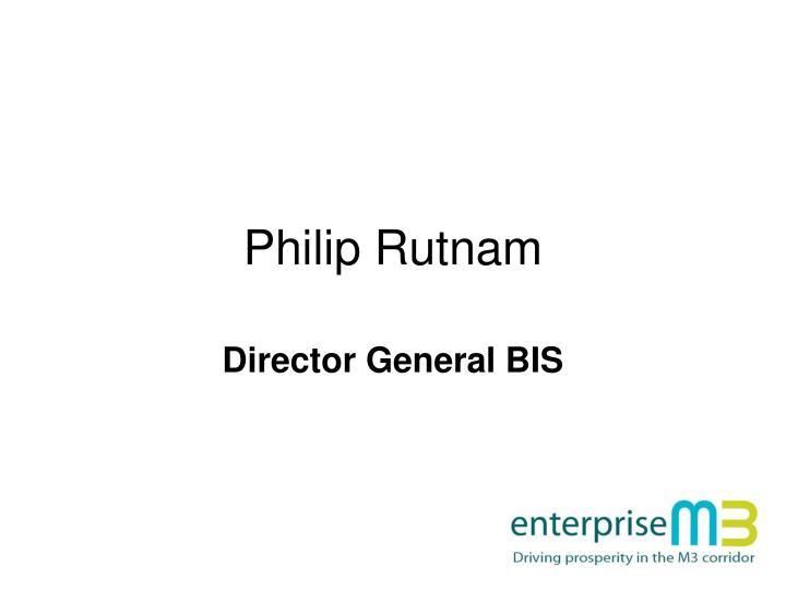 Philip Rutnam