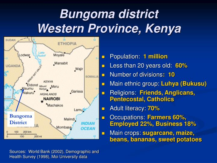 Bungoma district