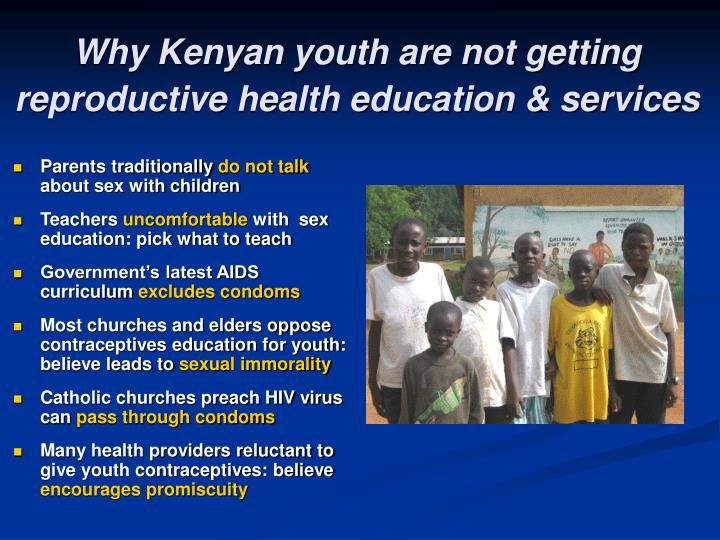 Why Kenyan youth are not getting