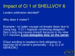 impact of cl 1 of shellvoy 6