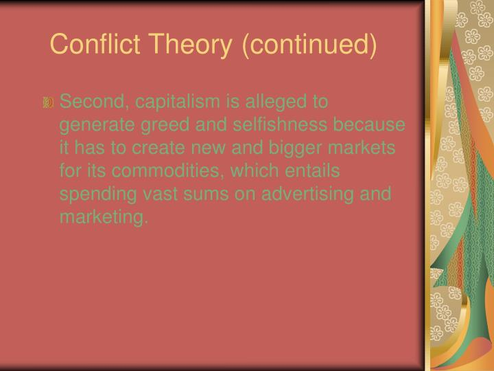conflict theory deviance Conflict theory will be examined in this paper and, even though both theories are   systems theory is based on the principle that human systems and their.