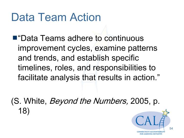 Data Team Action