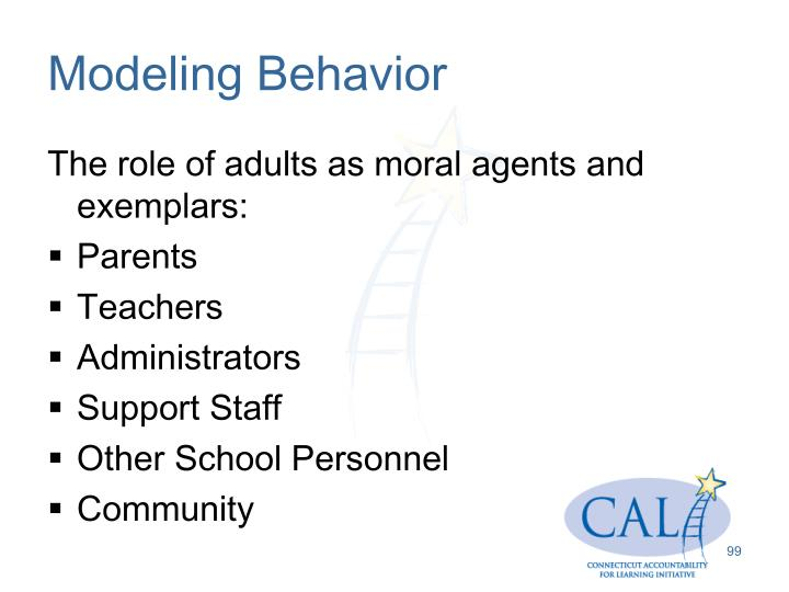 Modeling Behavior