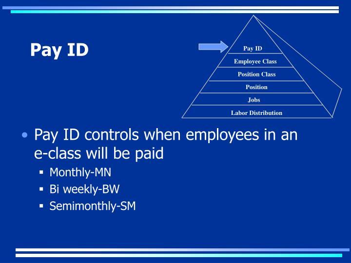 Pay ID