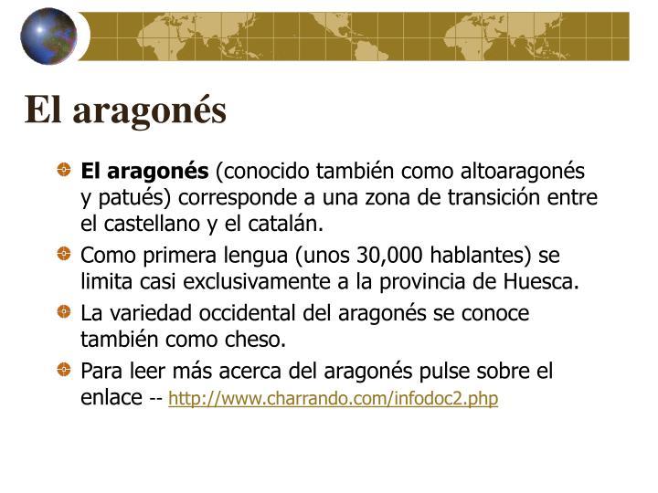 El aragonés