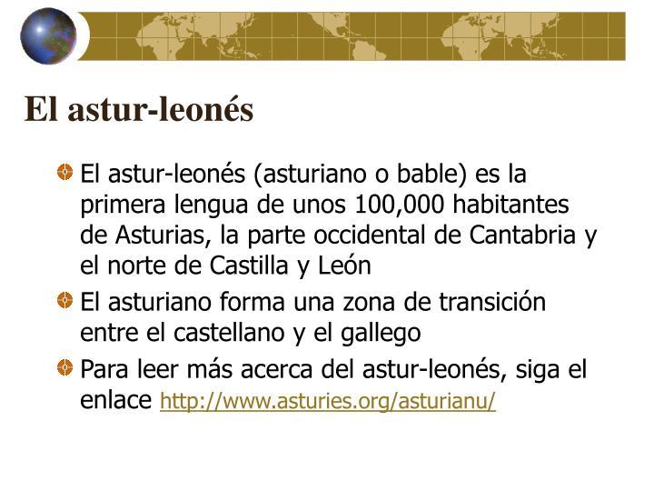 El astur-leonés