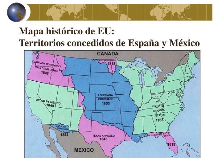 Mapa histórico de EU: