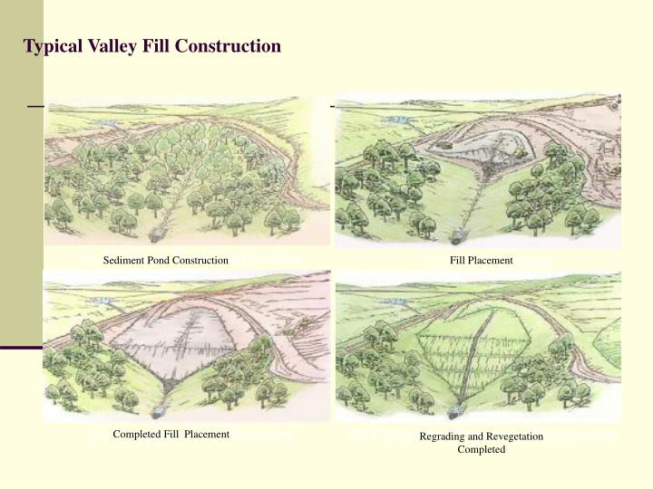 Typical Valley Fill Construction