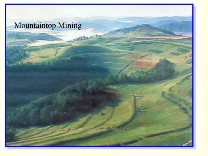 Mountaintop Mining