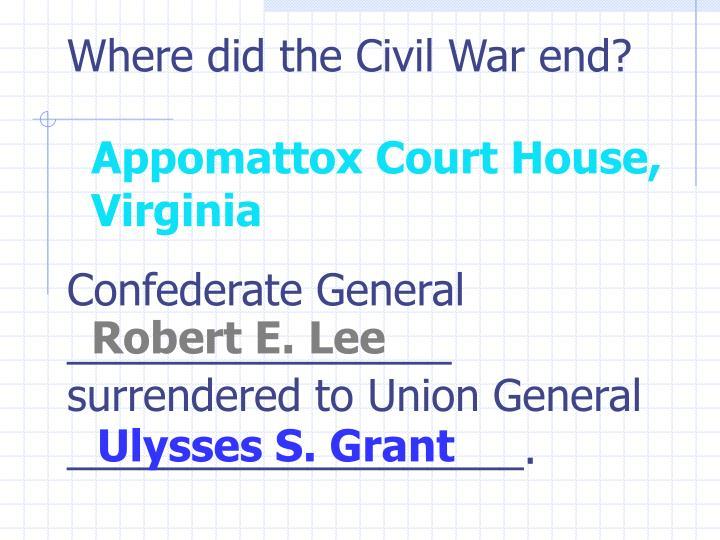 Robert E. Lee