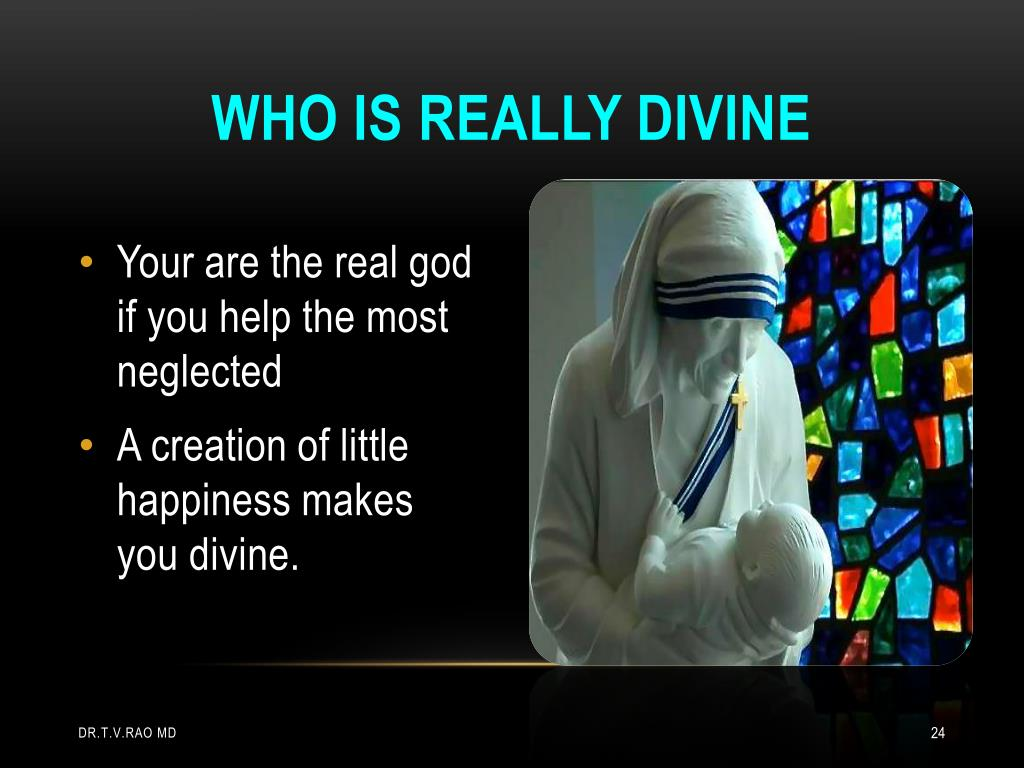 Who is really divine