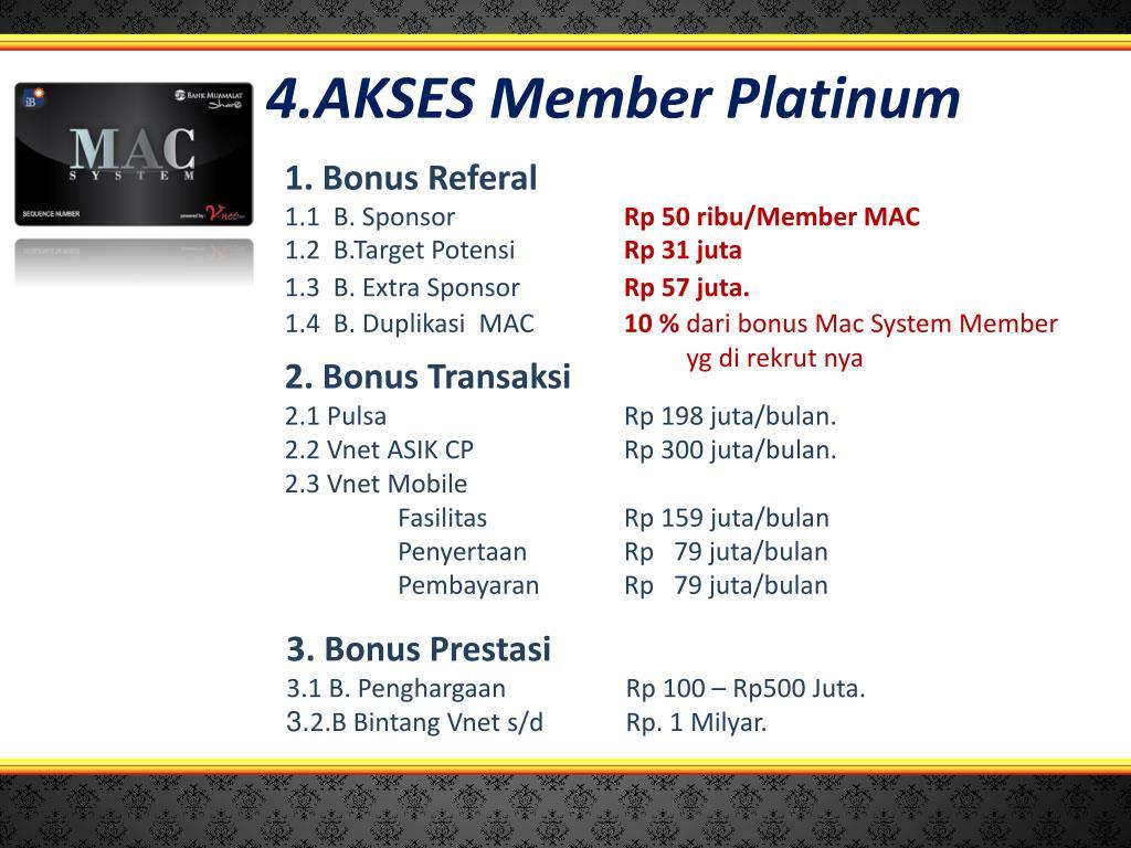 4.AKSES Member Platinum