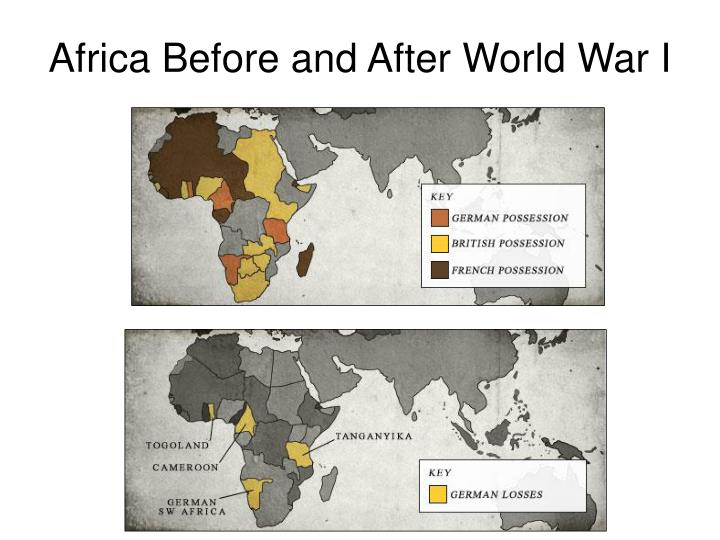 Africa Before and After World War I
