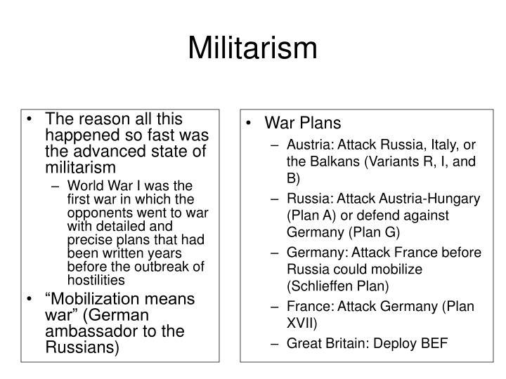 Militarism