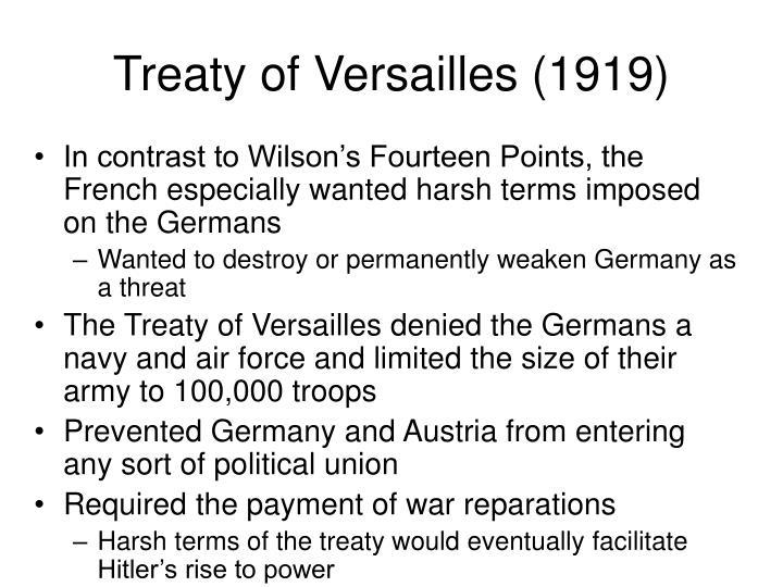 Treaty of Versailles (1919)