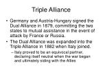 triple alliance