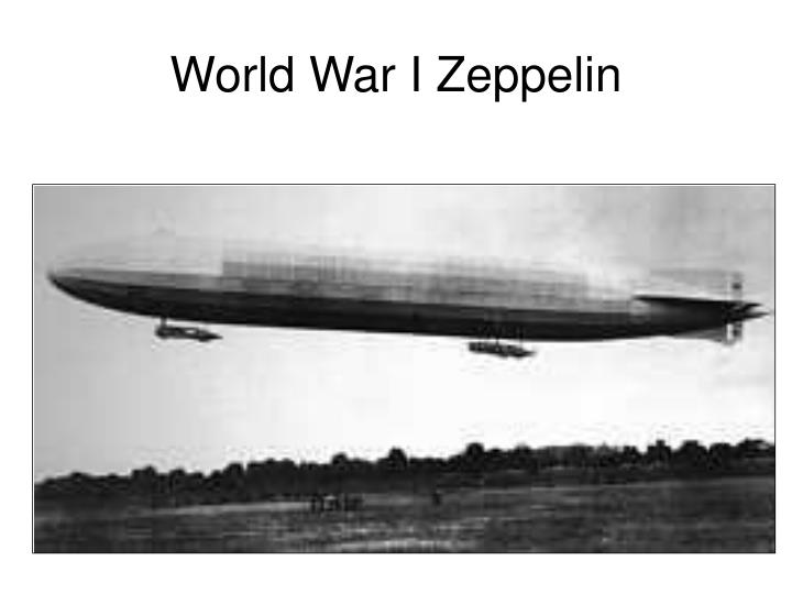 World War I Zeppelin