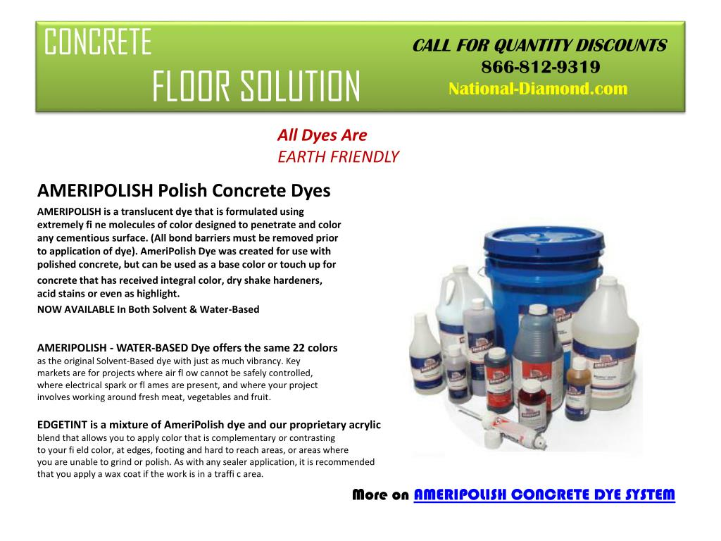 concrete floor solution