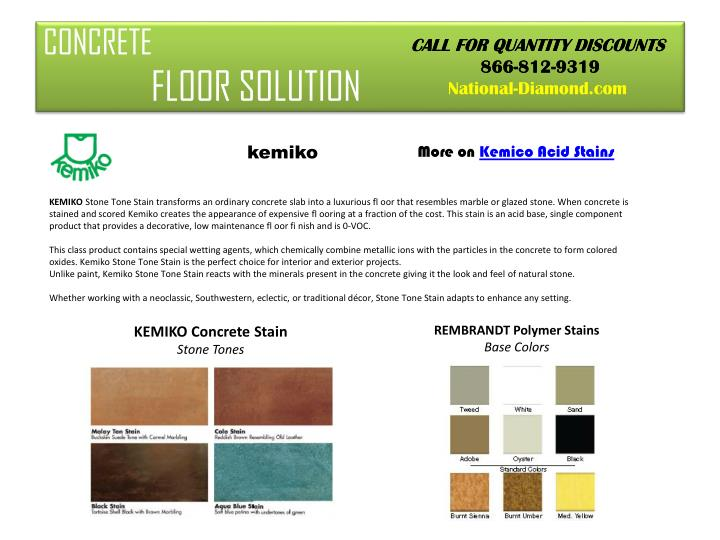 Concrete floor solution3