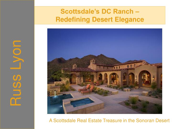 Scottsdale's DC Ranch –