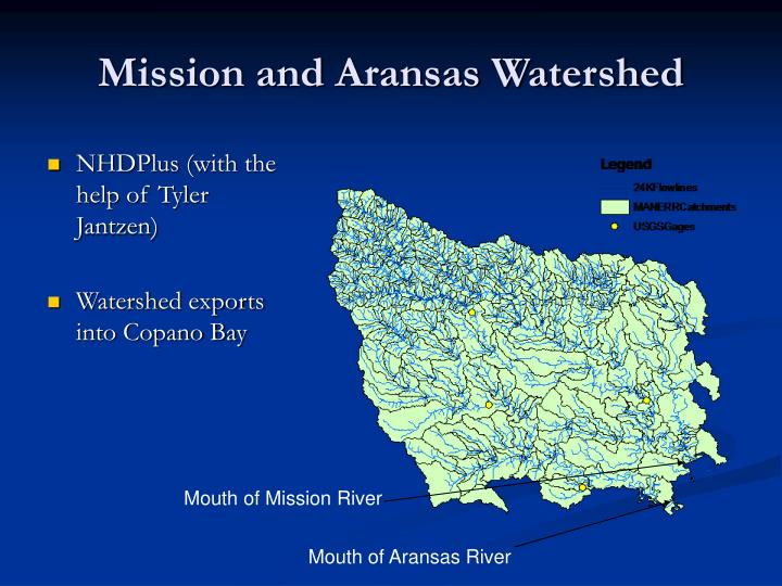 Mission and Aransas Watershed
