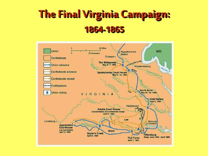 The Final Virginia Campaign: