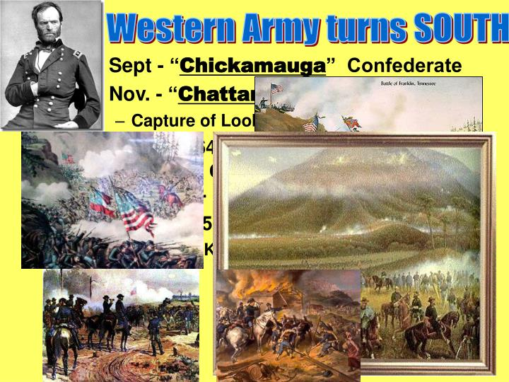 Western Army turns SOUTH
