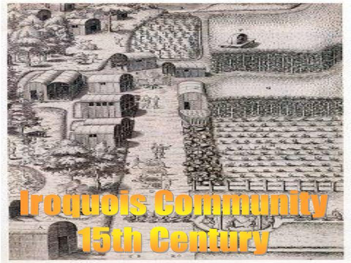Iroquois Community