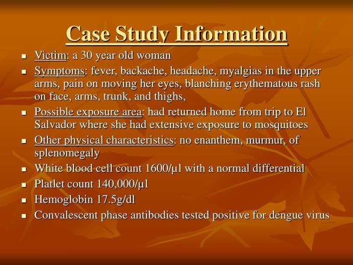 Case Study Information
