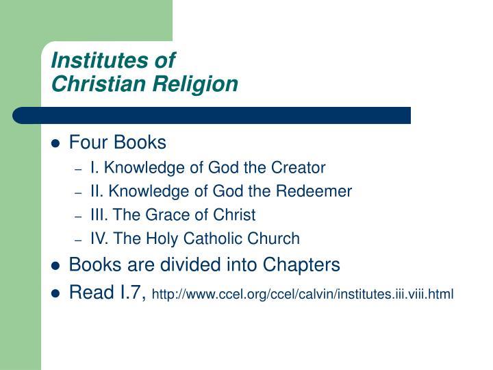 Institutes of