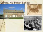 genoa ne indian school