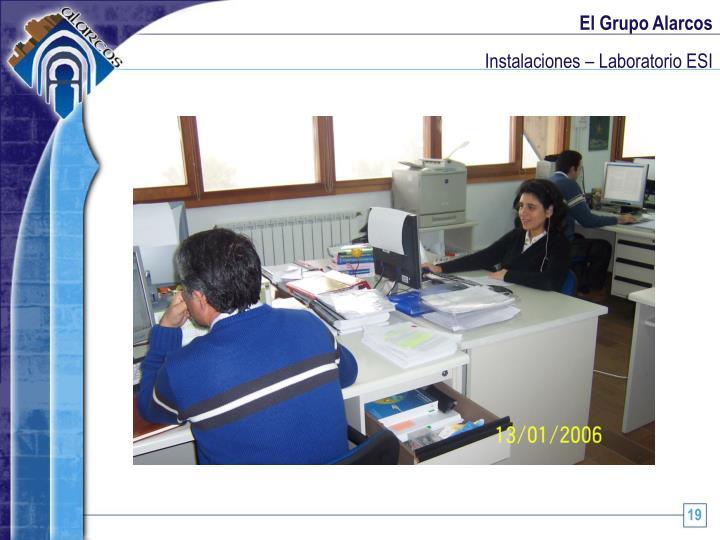 Instalaciones – Laboratorio ESI