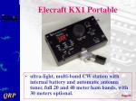 elecraft kx1 portable