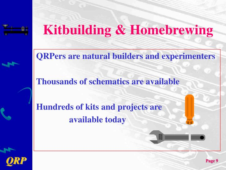 Kitbuilding & Homebrewing