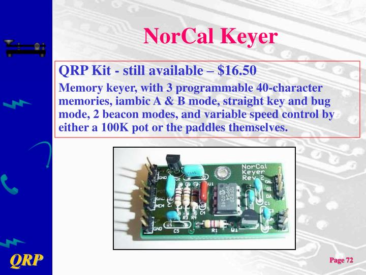 NorCal Keyer