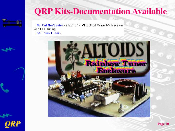 QRP Kits-Documentation Available
