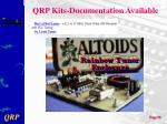 qrp kits documentation available1