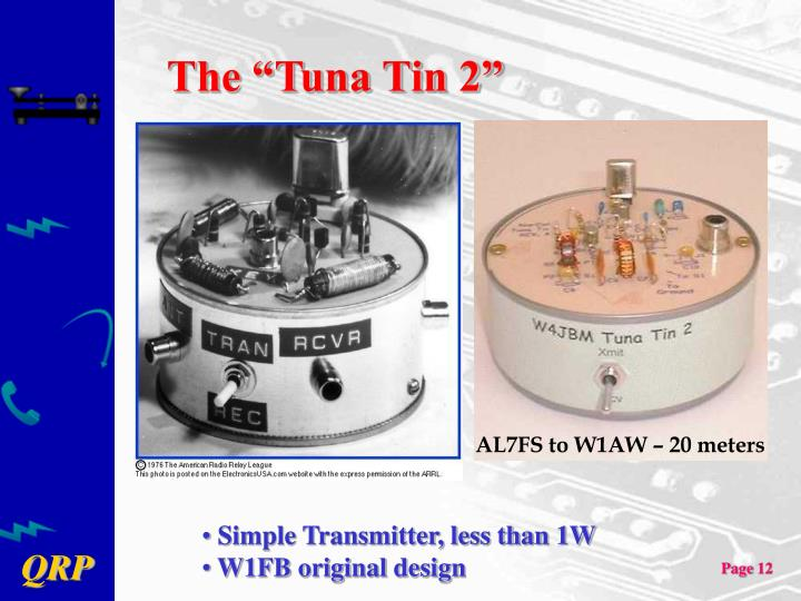 "The ""Tuna Tin 2"""