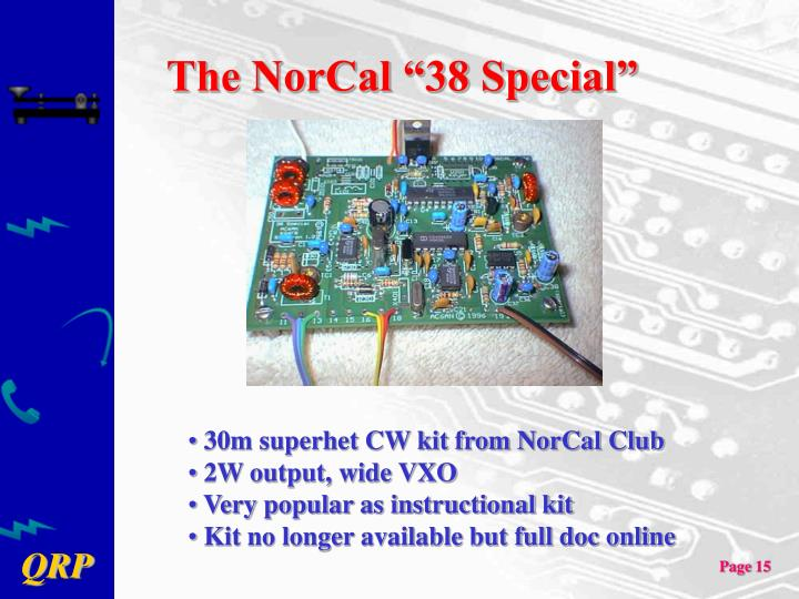 "The NorCal ""38 Special"""