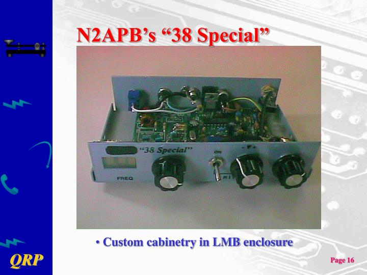 "N2APB's ""38 Special"""