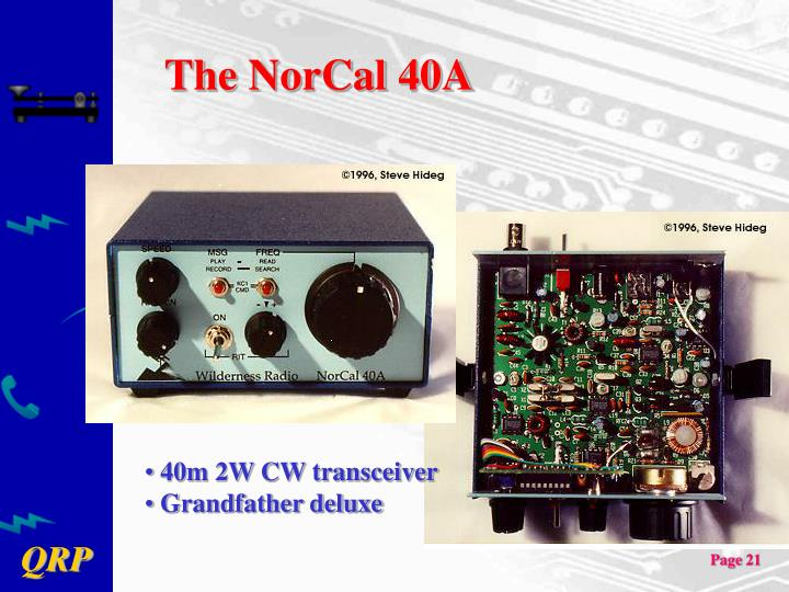 The NorCal 40A
