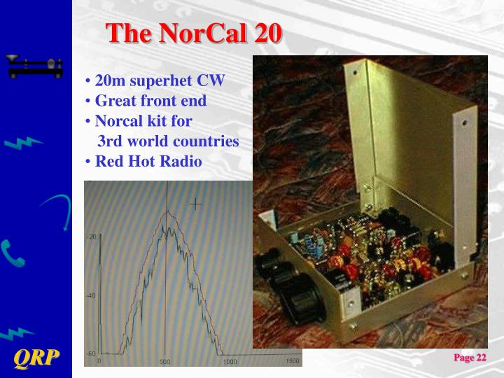 The NorCal 20