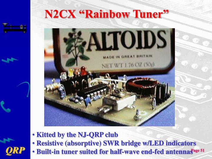 "N2CX ""Rainbow Tuner"""
