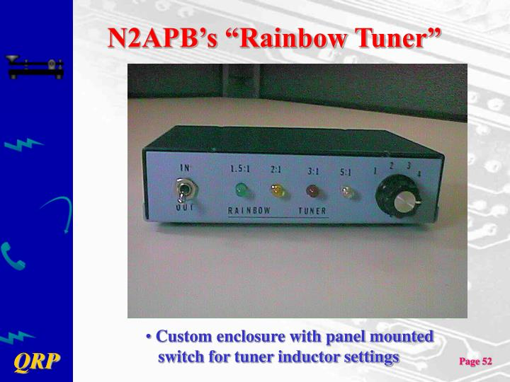 "N2APB's ""Rainbow Tuner"""